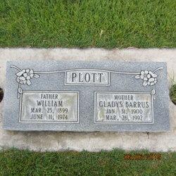 Gladys Evelyn <I>Barrus</I> Plott