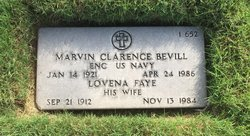 Marvin Clarence Bevill