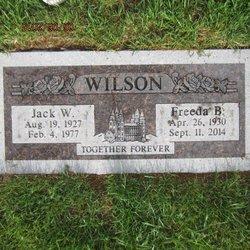 Jack Willard Wilson