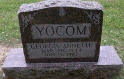 Georgia Annette <I>Zeigler</I> Yocom