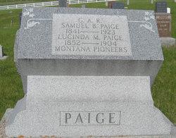 "Lucinda Minerva ""Nerva"" <I>Taylor</I> Paige"