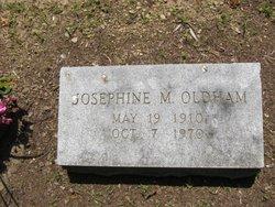 Josephine Mary <I>Bliley</I> Oldham