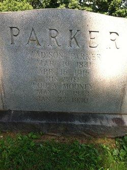 """Louisa Ann """"Lou"""" <I>Mooney</I> Parker"""