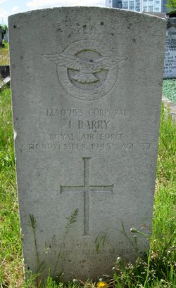 Corporal James J Barry