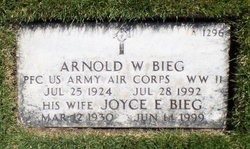Arnold William Bieg