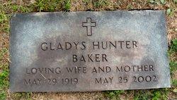 Gladys <I>Hunter</I> Baker