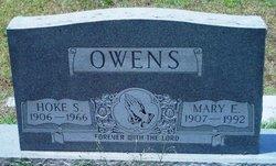 Mary E <I>Odom</I> Owens