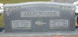 Anna Mae Abercrombie