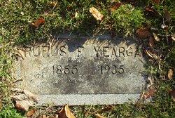 Rev Rufus Ferrell Yeargan
