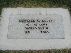 Donald George Allen