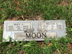 Mary Ann <I>Rawson</I> Moon