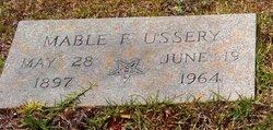 Mable Eva <I>Floyd</I> Ussery