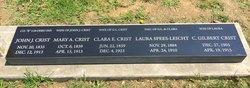 Clara Ellen <I>Payne</I> Crist