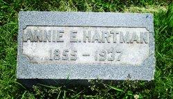 Annie E. <I>Warner</I> Hartman