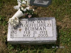 Rita M <I>Loeffelholz</I> Buhman