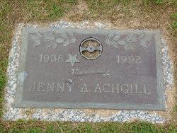 "Virginia Ann ""Jenny"" Achgill"