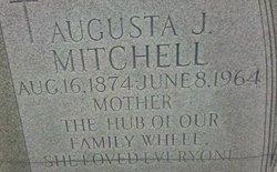 """Augusta Jane """"Gussie"""" <I>McLain</I> Mitchell"""