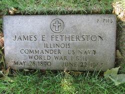Dr James Edward Fetherston