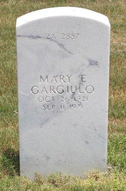 Mary E Gargiulo