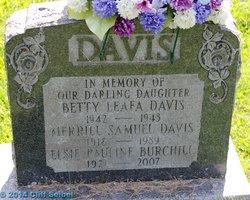 Betty Leafa Davis