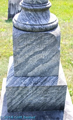 Harriet E <I>Jemison</I> Merrifield