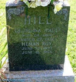 Georgina <I>Paul</I> Hill