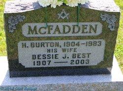 Bessie J. <I>Best</I> McFadden