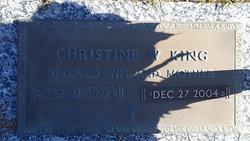 Christine <I>Whaley</I> King