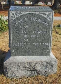 Ellen B. <I>Graves</I> Thompson