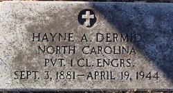 Hayne A. Dermid
