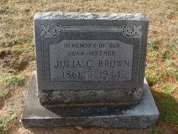 Julia Catherine <I>Greenwell</I> Brown