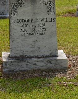 "Theodore Daniel ""Ted"" Willis, Sr"