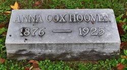 Anna <I>Cox</I> Hooven