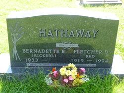 """Fletcher Dean """"Red"""" Hathaway"""