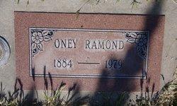 Oney <I>Emillio</I> Ramond