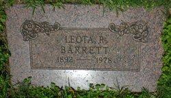 Leota <I>Robinson</I> Barrett