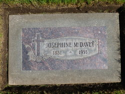 Josephine Marie <I>Gervais</I> Davey