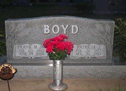 "Patricia Jean ""Patty"" <I>Parker</I> Boyd"
