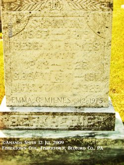 Emma Grace <I>Berkheimer</I> Milnes
