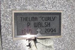 """Thelma """"Curly"""" <I>Jacquinot</I> Walsh"""
