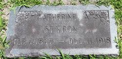 """Catherine """"Kate"""" <I>Adams</I> Styron"""