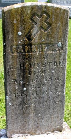 Fannie <I>Adams</I> Weston