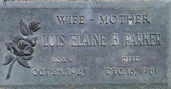 Lois Elaine <I>Binkerd</I> Parker