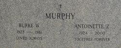 Antoinette Delia <I>Zolly</I> Murphy