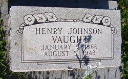 "Henry Johnson ""John"" Vaught"