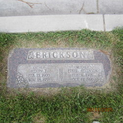 Ethel May <I>Atkinson</I> Erickson