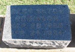 Bess <I>Seton</I> Robinson