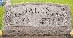 Dorothy Mae <I>Hake</I> Bales