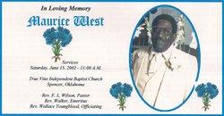 Maurice West