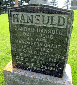 Johann Conrad Hansuld